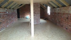 Zateplení a montáž dřevěné podlahy