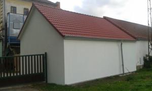 dřevostavba-truhlářské dílna Smetanova Lhota kompletní dodávka-stěny,krov-výroba a montáž,pokládka krytiny