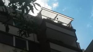zastřešení balkonu Písek